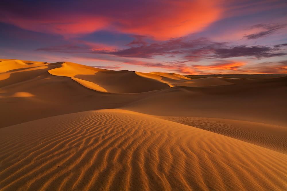 A Seductive Desert Fantasy